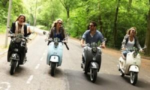 Reizen met scooter